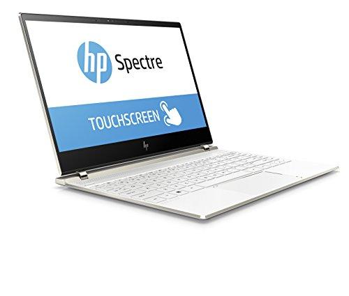 HP Spectre 13-af002na 13.3-Inch 4K Touchscreen Laptop - (Ceramic white) (Intel Core i7-8550U, 8 GB RAM, 512 GB SSD, Intel UHD Graphics 620, Windows 10 Home