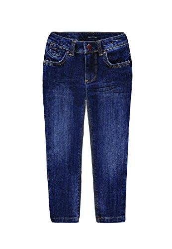 Marc O' Polo Kids Hose Jeans-Blu Bambina    Blu (dark blue denim|blue 0012) 92