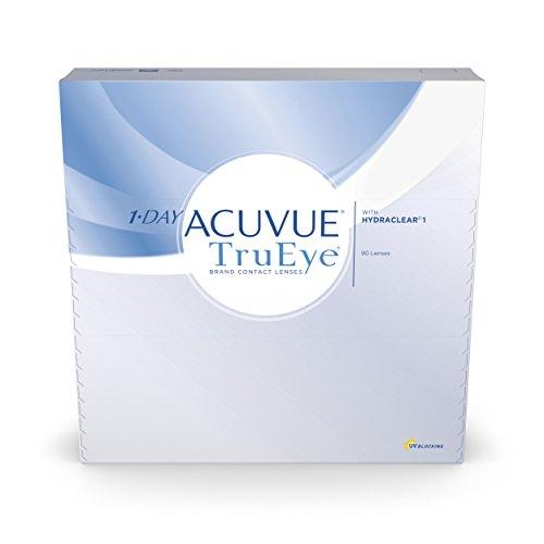 Acuvue 1-Day TruEye Tageslinsen weich, 90 Stück / BC 9 mm / DIA 14.2 / -1.00 Dioptrien