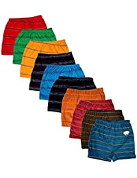Esteem Boy's Cotton Drawer Briefs - Pack of 10