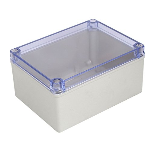 x 100mm ABS Clear Cover Dustproof IP65 Electrical Junction Box ()