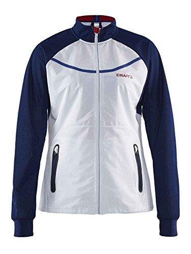 Nordic Womens Jacket (Craft Intensity Jacket Women - White/Thunder/Express)