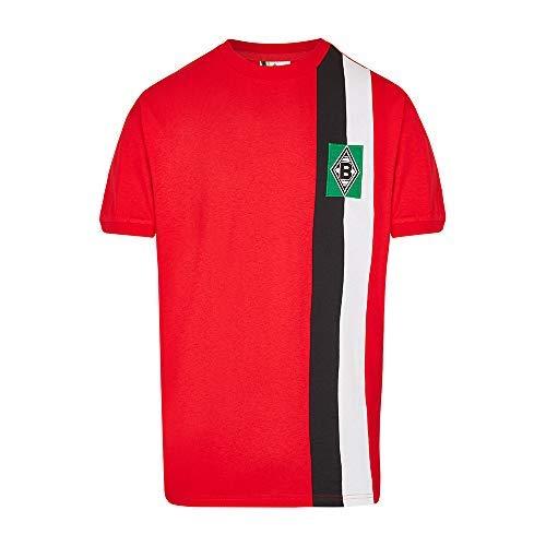 e7536d4ba Scoredraw Gladbach Retro - Camiseta de fútbol de 1972, Rojo, Extra-Large
