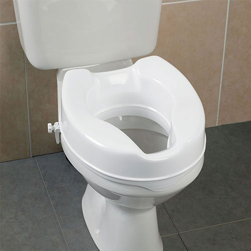 Savanah Raised Toilet Seat - 6 I...
