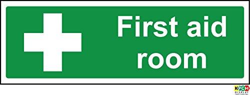 Erste Hilfe Schilder Erste Hilfe Raum Hinweisschild-Sticker Selbstklebend 300mm x 100mm
