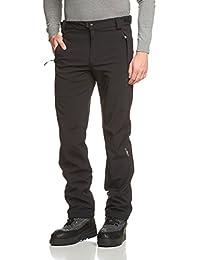 CMP - F.lli Campagnolo Hose Softshell, Pantalones Para Hombre, Negro (u901), 52 (5XL)