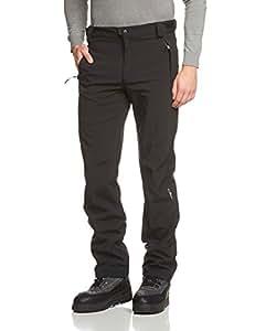 CMP Pantalon pour homme Softshell Noir (U901) Noir (U901) C24