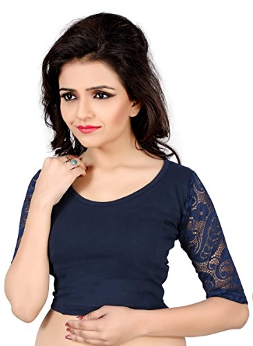 vibes-designer-full-stitched-stretchable-free-size-saree-blouse-with-full-sleeves