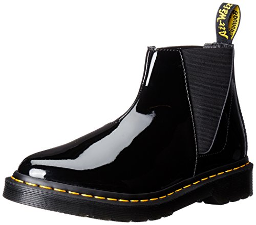Dr.Martens Womens Bianca Smooth Chelsea Leather Boots black
