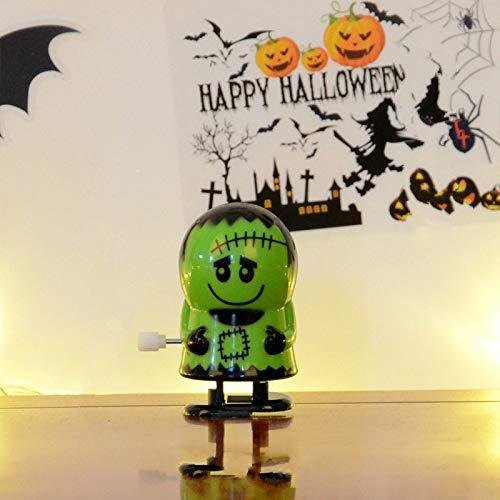 z Kreative Halloween Uhrwerk Spielzeug Zombie Skelett Mummy Uhrwerk Roboter Puppe Kinder Spielzeug Festival Geschenk (Farbe : Doll) ()
