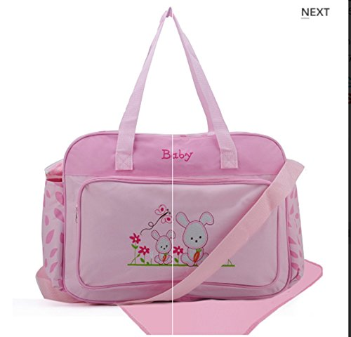 fabulous-baby-baglarge-pink-cartoon-rabbit-pattern-canvas-nappie-diaper-bag-babies-mummy-changing-sh