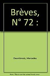 Brèves, N° 72 :