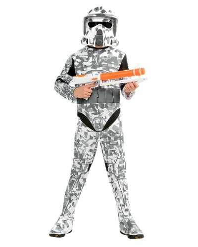 Arf Kostüm Kind Trooper (Star Wars Kinder Kostüm Arf Trooper Gr. M 5 bis 7)