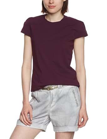 Strenesse Damen T-Shirt Regular Fit 526039 23018, Gr. 42, Violett (750 / plum)