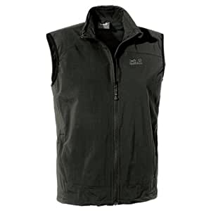 Jack Wolfskin Men's Activate Soft Shell Vest - Black, Small