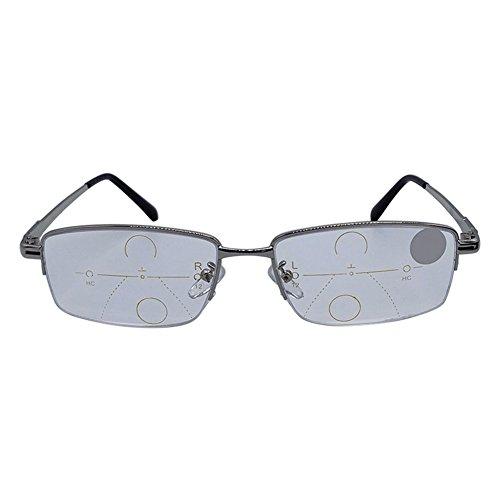 Lzndeal occhiali da lettura intelligenti lenti multifunzione progressive presbiopia anti-fatica