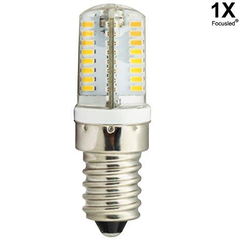 Focusled® 1X E14 LED Lampe 3W 64 SMD 3014 LED Lampe Glühbirne Leuchtmittel Energiespar Licht AC 200-240V 260-280LM Warmweiß