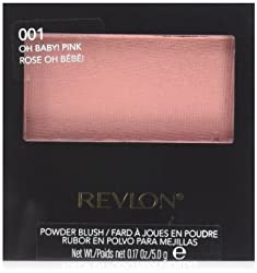 Revlon Powder Blush, 001 Oh Baby Pink, 0.17 Ounce