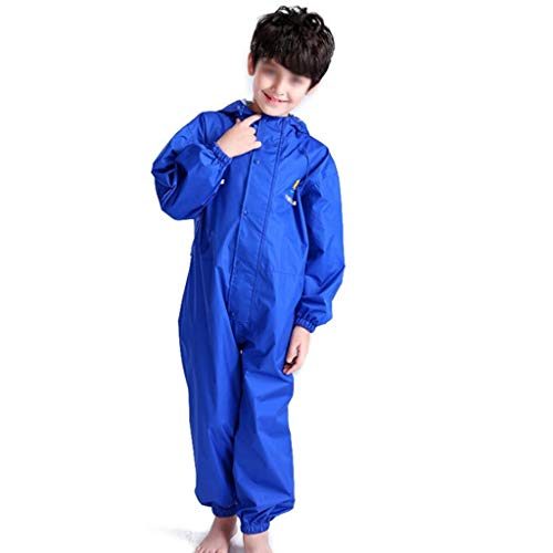 LEOO Baby-Mädchen-Regenmantel Cute Hoodie Zipper Coat Outfit (größe : XL)