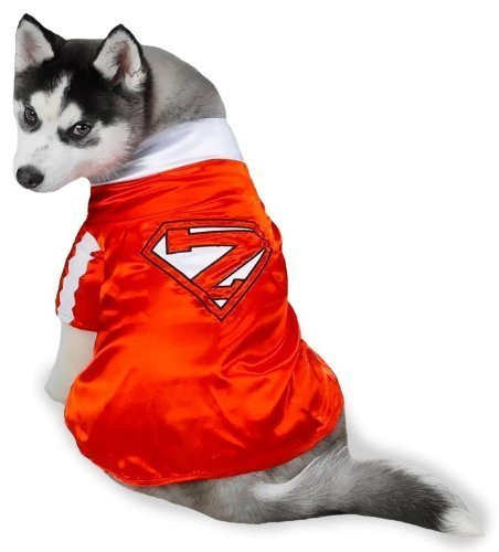 Kostüm Up Dress Superhero - Pet Costume Mighty Mutt Super-Hero Small