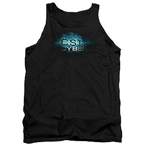 CSI: CYBER Crime Drama Series Fingerprint Logo Adult Tank Top Shirt