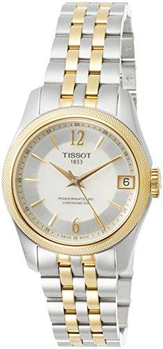 Reloj Tissot Ballade automático para mujer, con certificado COSC, T1082082211700.