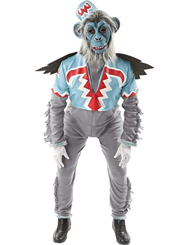 Erwachsener Herren Fliegend Affe Halloween Verkleidung Kostüm Extra Large