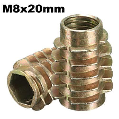 ChaRLes 5Pcs tornillo de la impulsión del maleficio M8x20mm en el parte...