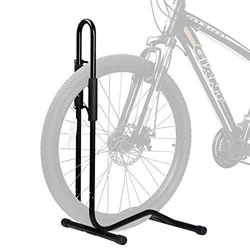 ZJY 2-in-1-Fahrradständer, Bodenparkgestell, Autoreparaturstation Show Support Schiebeschaumabdeckung Leicht zu transportieren - Geeignet für Reifen von 12