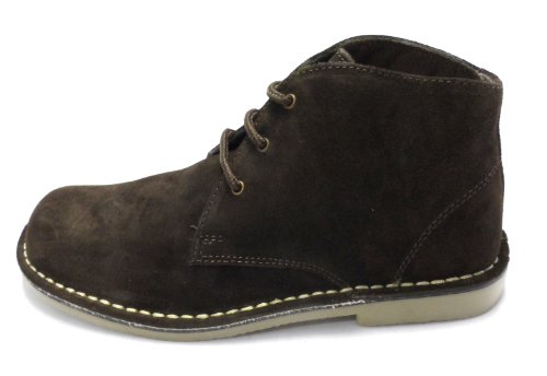 Roamer , Bottines chukka mixte adulte Marron - Marron foncé