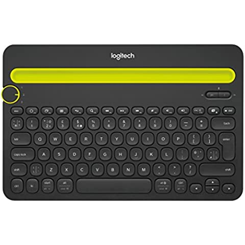 Logitech 5099206052802 - K480 teclado bluetooth multidispositivo (negro, qwerty inglés)