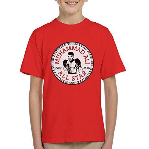 ll Star Converse Logo Kid's T-Shirt (All-star-boxer)
