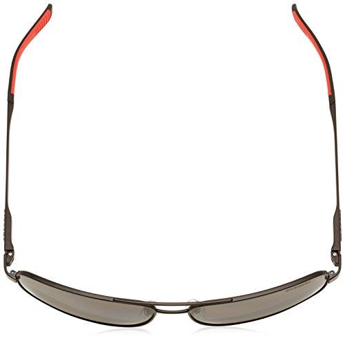 Carrera - Lunette de soleil  8014/S  Rectangulaire  - Homme MTT BLACK