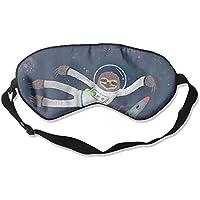 Sloth In A Space 99% Eyeshade Blinders Sleeping Eye Patch Eye Mask Blindfold For Travel Insomnia Meditation preisvergleich bei billige-tabletten.eu