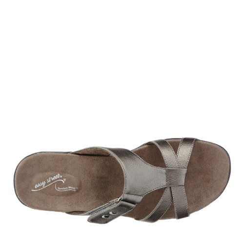 Easy Street Blaze Large Synthétique Sandale Pewter