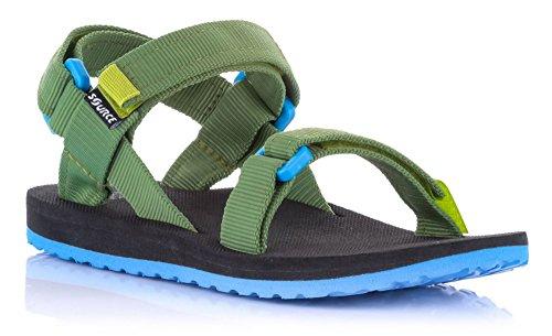 Source enfants sandales Urban Talons jeunes filles couleurs assorties/101093 - Grün Blau