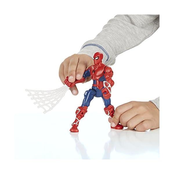Marvel - Superhéroe mashers - Ataque de Spider-Man - Rayo Miniatura Ensamble Accesorios 5