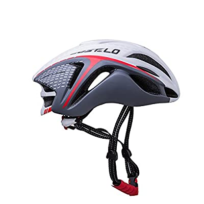 Eco-Friendly Super Light Integrally Bike Helmet,Adjustable Lightweight Mountain Road Bike Helmets For Men And Women- Cycle Cycling Road Bike Mountain MTB Bicycle Safety Helmet by Zidz