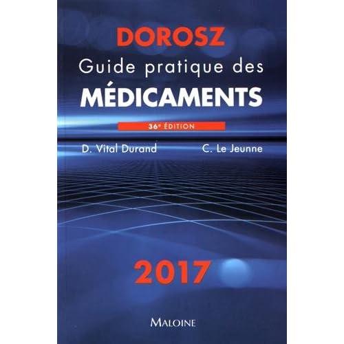 Telecharger Guide Pratique Des Medicaments Dorosz Pdf Livre