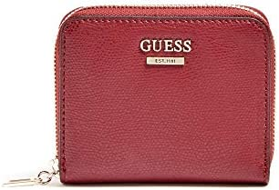 Guess Open Road SLG Small Zip Around Merlot