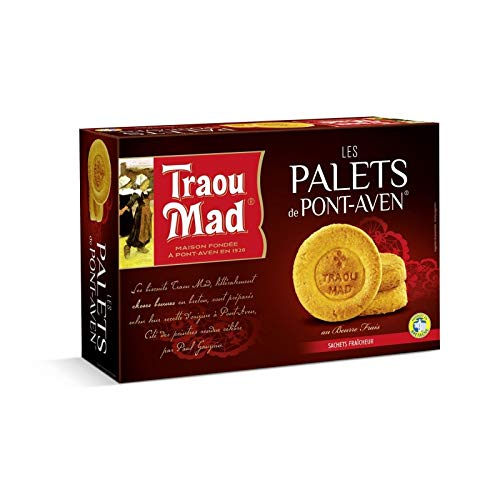 Traou Mad - Pappe Puck 300G - Packung mit 4