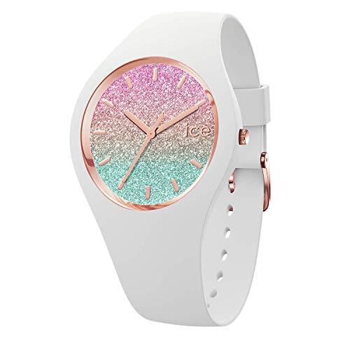 Ice-Watch - Ice lo VenIce - Weiße Damenuhr mit Silikonarmband - 015605 (Small)