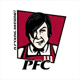 PFC Popeyes Fried Chicken Logo Little Nicky KFC Men's T-Shirt