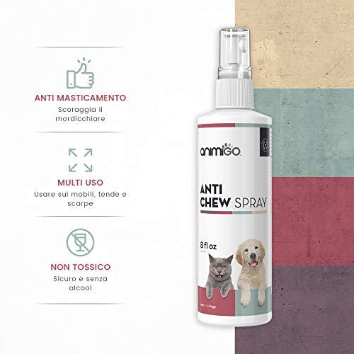 Zoom IMG-1 animigo anti chew spray cani
