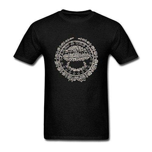 UKC5BD Herren T-Shirt Gr. XL, Schwarz - Schwarz Jared Allen Jersey