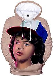 2019 Stranger Things 3D Hoodies Shirt Sweatshirt Autumn Winter Long Sleeve Harajuku Hip Hop Streetwear