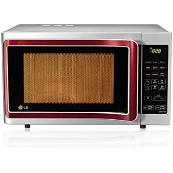 LG 28 L Convection Microwave Oven (MC2841SPS, Silver)