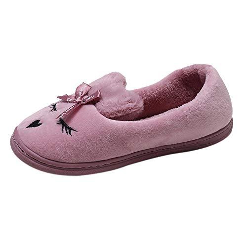 Toasye Ausverkauf. Frauen-Karikatur-niedrige Schnitt-Schuhe Flache Unterseite Beleg-SAMT beiläufige Hausschuhe Schuhe