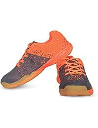 Vector X CS-2030 Court Shoes (Grey-Orange)