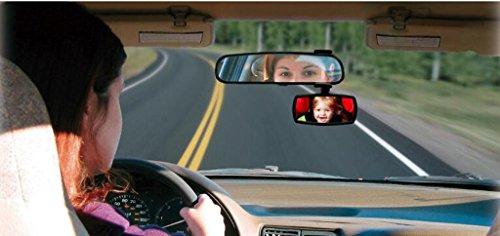 Miroir d'observation de voiture d'enfant Miroir de rétroviseur de bébé